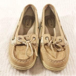🔥HOT BUY🔥 SPERRY Top-Sider Tan Boat Shoes
